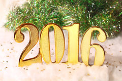 Rok 2016 Zdjęcia Royalty Free