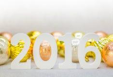 Rok 2016 Zdjęcia Stock