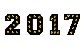Rok 2017 Zdjęcia Stock
