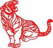 rok chiński tygrysi zodiak zdjęcie stock