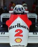 30 rok dalej - McLaren MP4, 1985 Australijskich Uroczystych Prix Obrazy Stock