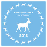Rok Goat13 Zdjęcia Stock