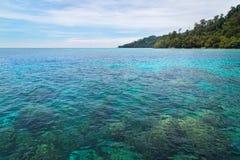 Rok island seascape at Krabi, Thailand Royalty Free Stock Photography