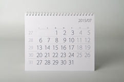 2015 rok kalendarz bigos Obraz Stock