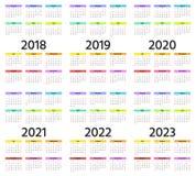 rok kalendarzowy 2019