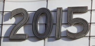 Rok markizy 2015 tekst Zdjęcie Stock