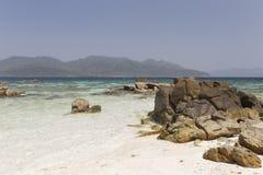 Rok Roy island in Tarutao National Marine Park Royalty Free Stock Images