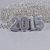 2015 rok srebra postacie Obrazy Royalty Free