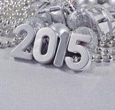 2015 rok srebra postacie Zdjęcie Stock