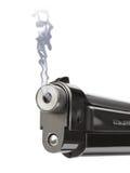 Rokend kanon stock afbeeldingen