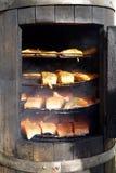 Rokende oven royalty-vrije stock afbeeldingen