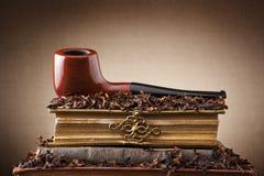 Rokende pijp Royalty-vrije Stock Foto's