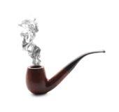 Rokende pijp Royalty-vrije Stock Afbeeldingen