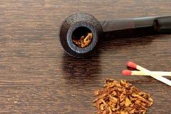 Rokende pijp Royalty-vrije Stock Fotografie
