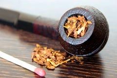 Rokende pijp Stock Foto