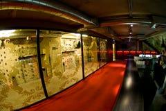 Rokende ruimte in nachtclub royalty-vrije stock afbeeldingen