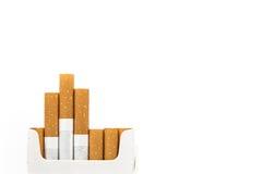 Rokende sigaretten Royalty-vrije Stock Foto's