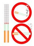Rokende tekens Royalty-vrije Stock Foto