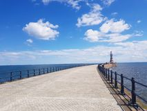 Roker lighthouse royalty free stock images