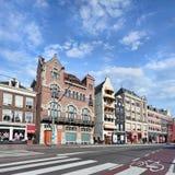 Rokin a Amsterdam, Paesi Bassi Fotografia Stock
