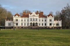 Rokiskis庄园宫殿 立陶宛 免版税库存照片