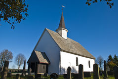 Rokke Church Royalty Free Stock Image