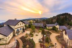 Rokko Garden Terrace Royalty-vrije Stock Foto's