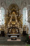 Rokkoko altar of balthasar neumann Royalty Free Stock Images