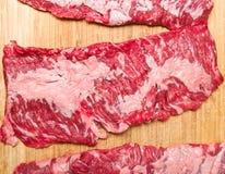 Roklapje vlees Royalty-vrije Stock Fotografie