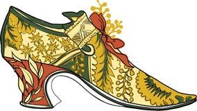 Rokoko obuwiana ilustracja Obrazy Royalty Free