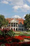 Rokokor och neoclassical Kozlowka (wka för ³ för KozÅ 'Ã) slott, Polen Arkivfoton