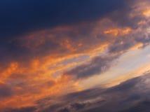 Roku niebo Obraz Stock