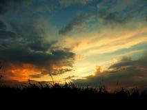 Roku niebo Obrazy Royalty Free