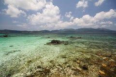 Roku Roy wyspa, Koh Rok Roy, Satun, Tajlandia Obrazy Royalty Free