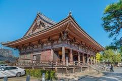 Rokujido Hall at Shitennoji Temple in Osaka Royalty Free Stock Photos