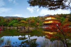 Rokuon籍寺庙 免版税库存图片