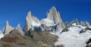 Roky mountains of Patagonia stock photos