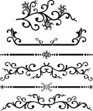 Rol, cartouche, decor, vector