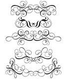 Rol, cartouche, decor, vector Royalty-vrije Stock Fotografie