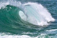 Rol in de oceaan Royalty-vrije Stock Foto's