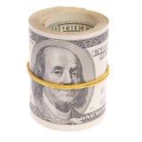 Rol del dinero Foto de archivo libre de regalías
