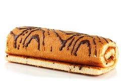 Rol het koekje. stock afbeelding