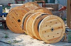 Rol van kabel Royalty-vrije Stock Foto's