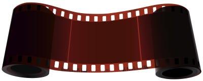Rol van spoel twee van één film. Stock Foto's