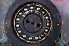 Rolamento de esferas velho Fotografia de Stock