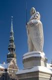 Roland e St.Peter Foto de Stock