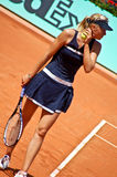 roland för garrosmaria match sharapova Royaltyfria Foton
