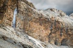 Roland Gap, Cirque de Gavarnie in den Pyrenäen stockfoto