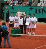 Roland Garros 2008 Royalty-vrije Stock Afbeeldingen