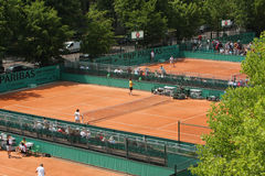 Roland Garros 2010 - courts Royalty Free Stock Image